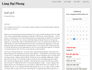langdaiphong.vnweblogs.com screenshot