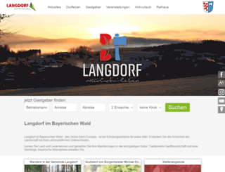 langdorf.de screenshot