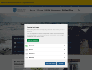langelandkommune.dk screenshot