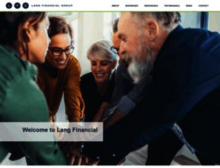 langfinancial.com screenshot