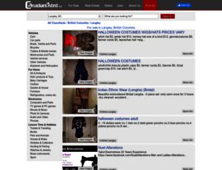 langley.canadianlisted.com screenshot