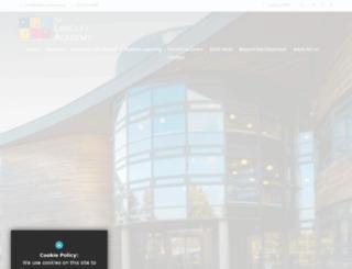langleyacademy.org screenshot