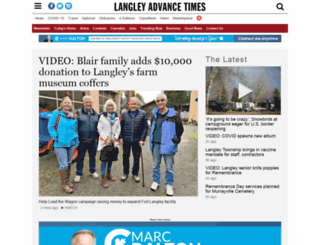 langleytimes.com screenshot