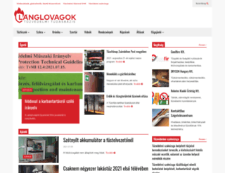 langlovagok.hu screenshot