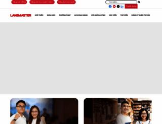 langmaster.edu.vn screenshot