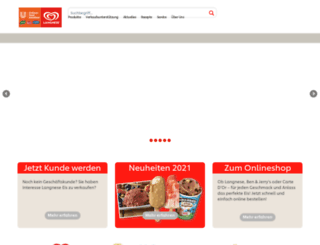 langnese-business.de screenshot