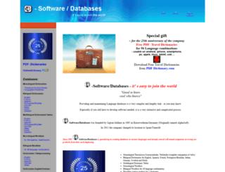 language-databases.com screenshot