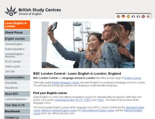 language-school-england.com screenshot