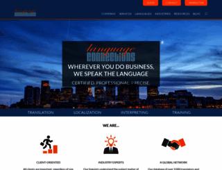 languageconnections.com screenshot