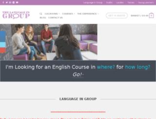 languageingroup.eu screenshot
