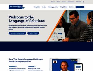 languageline.com screenshot