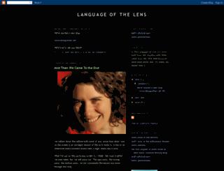 languageofthelens.blogspot.com screenshot