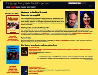 languagepolicy.net screenshot