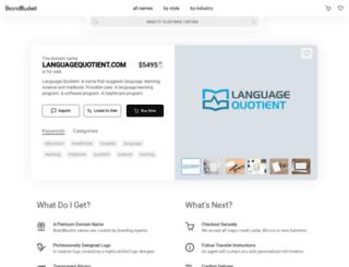 languagequotient.com screenshot