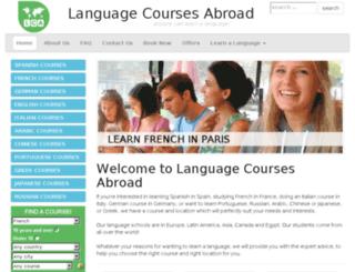 languagesabroad.co.uk screenshot