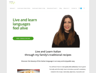 languagesalive.com screenshot
