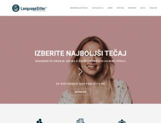languagesitter.si screenshot