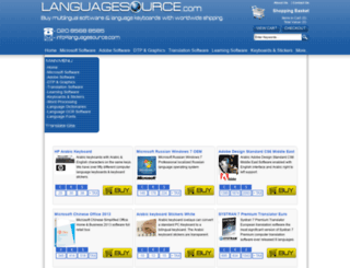 languagesource.com screenshot