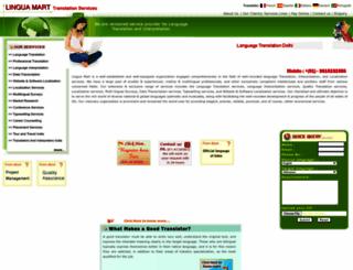 languagetranslationdelhi.com screenshot