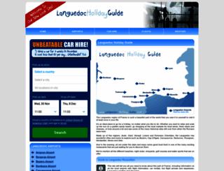 languedoc-holiday-guide.com screenshot