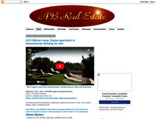 languedoc-roussillon-properties.blogspot.com screenshot