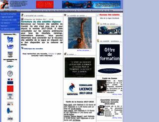 languedocroussillon.ffnatation.fr screenshot