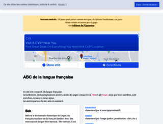 languefrancaise.net screenshot