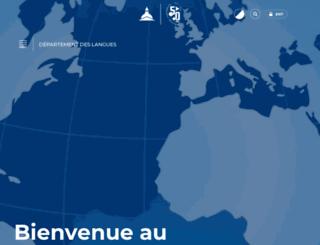 langues.univ-paris1.fr screenshot
