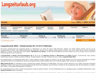 langzeiturlaub.org screenshot