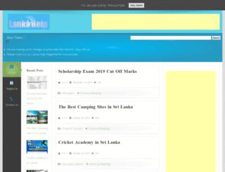 lankahelp.com screenshot