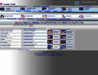 lankalink.net screenshot