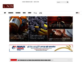 lankanewsweb.com screenshot
