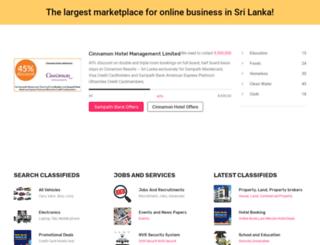 lankatopten.com screenshot