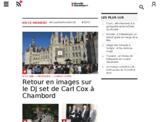 lanouvellerepublique.fr screenshot