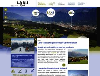 lans.at screenshot