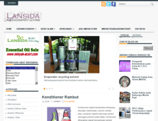 lansida.blogspot.com screenshot
