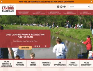 lansing.ks.us screenshot