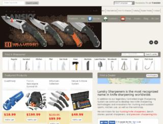 lanskysharpeners.com screenshot