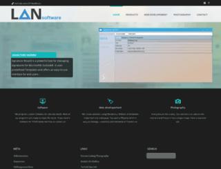 lansoftware.org screenshot