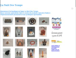 lanuitdestemps-cholet.fr screenshot