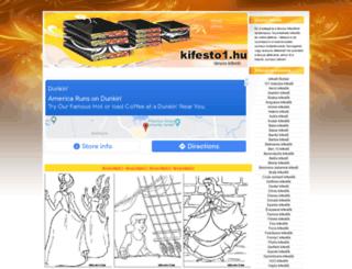 lanyos-kifestok.kifesto1.hu screenshot