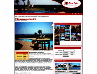 lanzarote-rentals.com screenshot