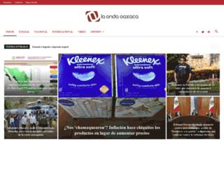 laondaoaxaca.com.mx screenshot