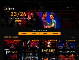 laopera.org screenshot