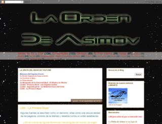 laordendeasimov.blogspot.com screenshot