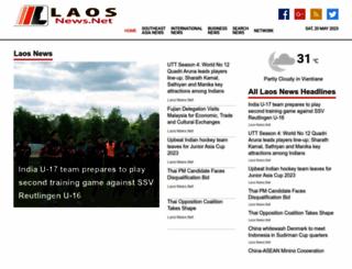 laosnews.net screenshot