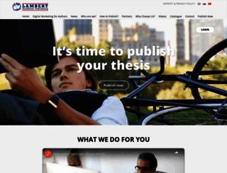 lap-publishing.com screenshot