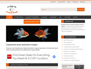 lapagedupoissonrouge.net screenshot