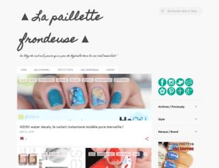 lapaillettefrondeuse.blogspot.ch screenshot