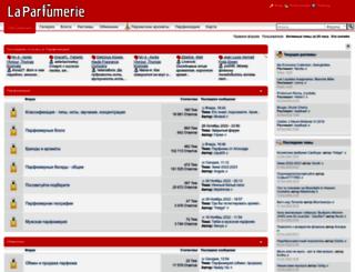 laparfumerie.org screenshot